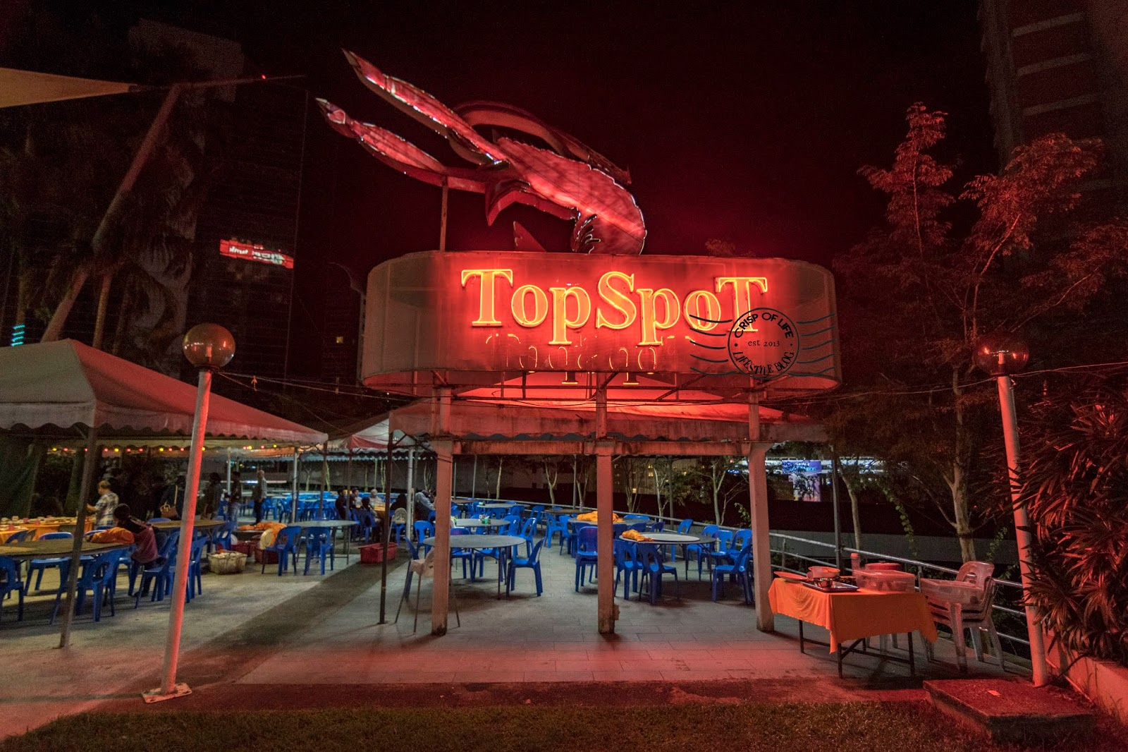 Seafood Rooftop Dining @ Topspot Food Court Kuching
