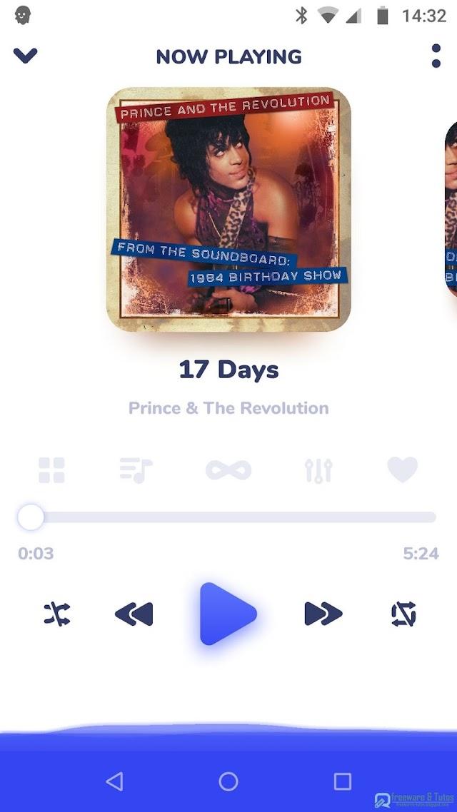 Nyx Music Player  : un élégant lecteur audio pour Android