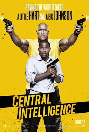 Poster Of Central Intelligence 2016 In Hindi Bluray 720P Free Download