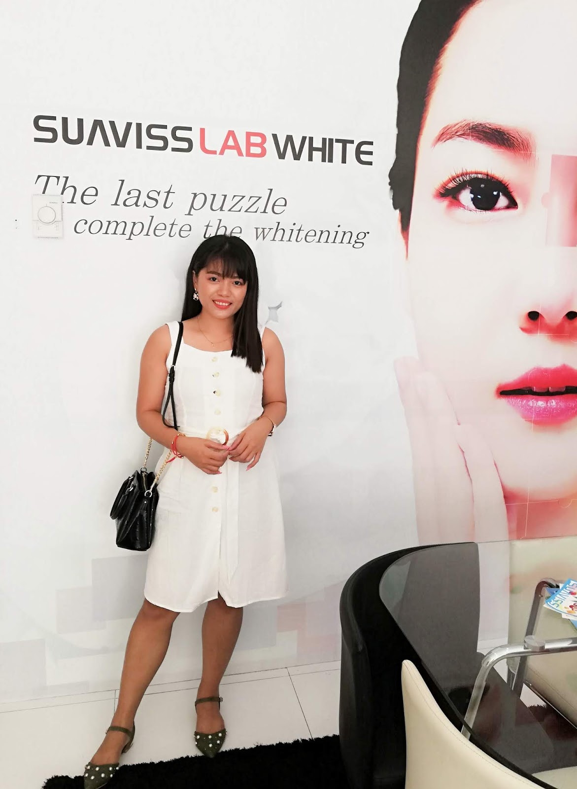 BEAUTY LAB WHITENING BY SUAVISS LAB WHITE - FIRST SESSION OF WHITENING SOLUTION FULL BODY TREATMENT