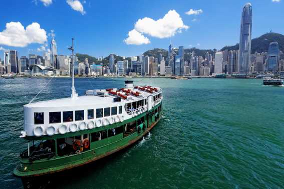 Kapal Ferinya Star Ferry