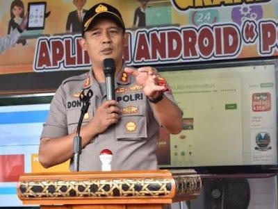 Kapolres Payakumbuh, AKBP Dony Setiawan, SIK, MH