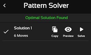 find solution pattern rubik