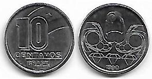 10 centavos, 1990