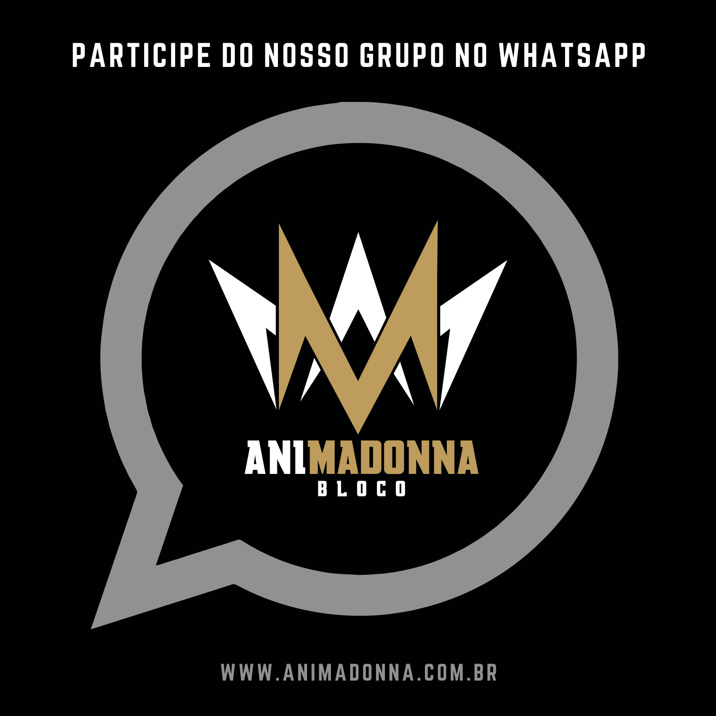 CONVERSE COM O ANIMADONNA NO WHATSAPP