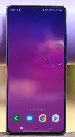 رأي في Galaxy S10 Lite