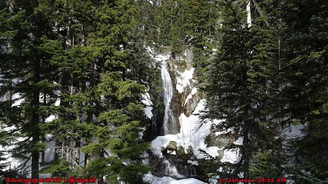 Sahale Falls Mount Hood Oregon
