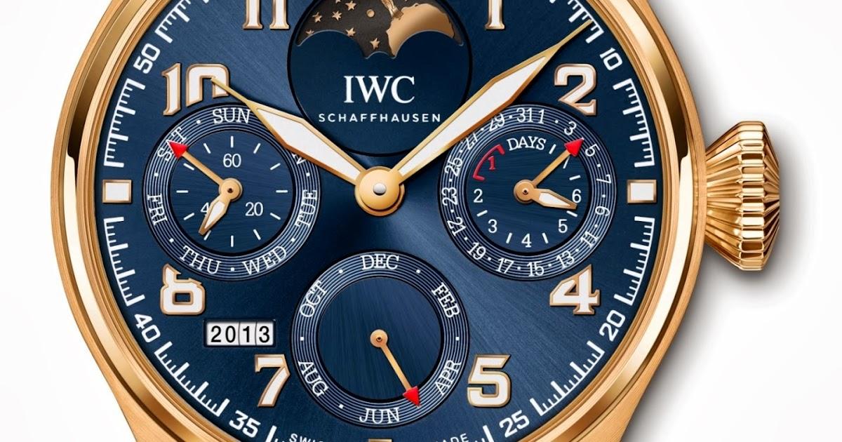 5672ad7fc Estação Cronográfica: IWC homenageia Le Petit Prince com relógios de edição  limitada