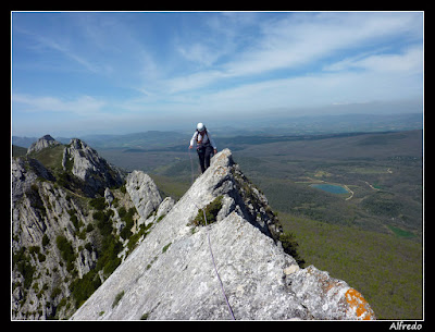 Cresta del Palomares, Pipaón, Álava
