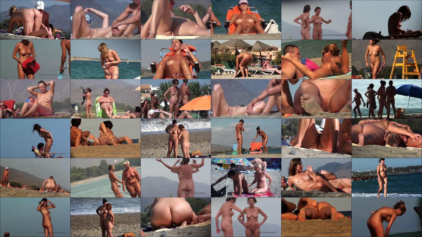 Отпуск на голом пляже. Часть 3 / Naked Beach Vacations. Part-3.
