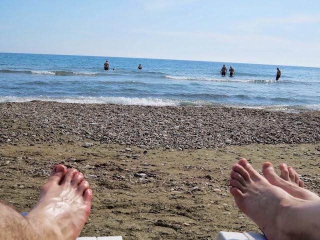 Cyprus Road Trip Itinerary: Kourion Beach