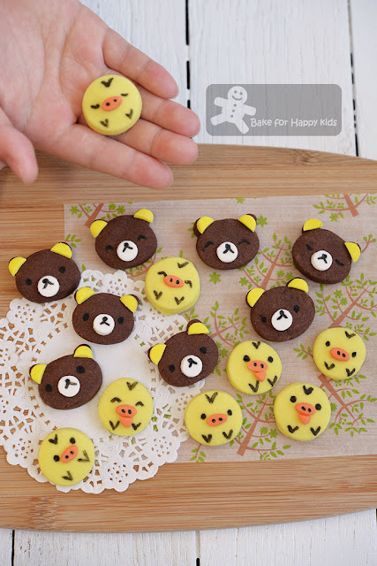 rilakkumma kiiroitori chocolate butter cookies