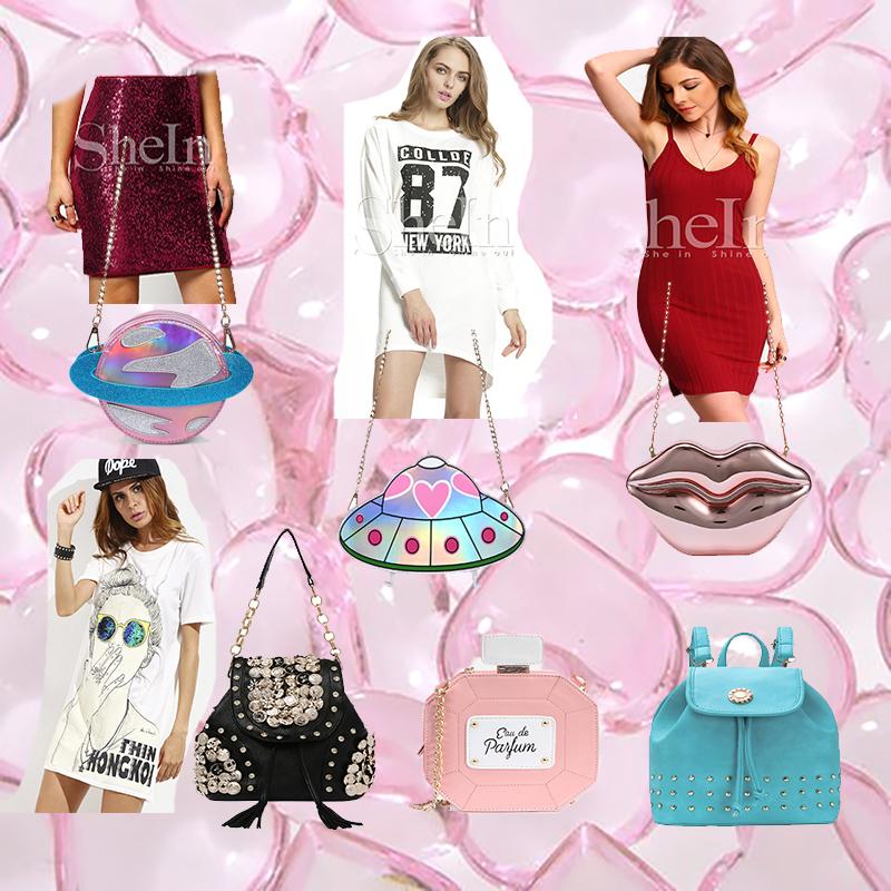 wishlist, bolsas diferentes, bolsas criativas, bolsa alien, bolsa turquesa, bolsa boca metalizada, loja gringa frete gratis