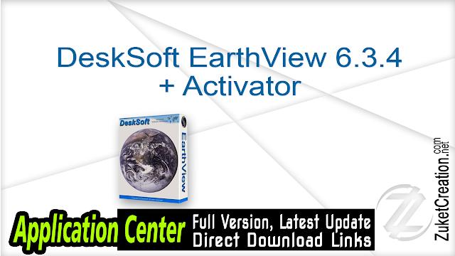 DeskSoft EarthView 5.21.1 + Patch    |   19 MB