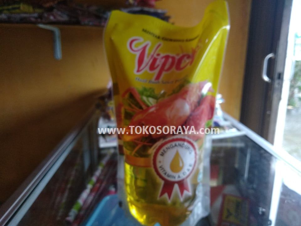 Jual Minyak Goreng Kelapa Sawit Vipco Kemasan 1 Liter