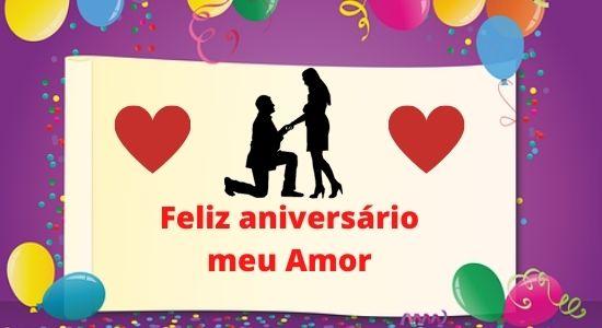 100+ Melhores mensagens feliz aniversário meu amor