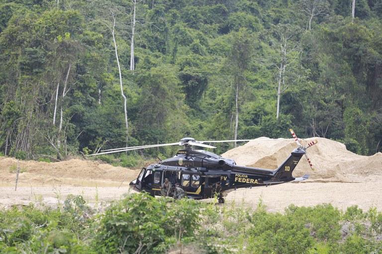 PF deflagra operação para combater garimpos ilegais em terras indígenas do Pará