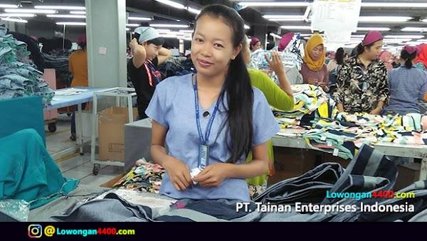 Lowongan Kerja PT. Tainan Enterprises Indonesia 3 Terbaru