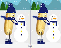 Logo Brioche Pasquier : trova le differenze e vinci gratis delizie natalizie