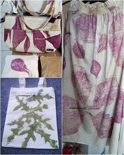 Teknik Membuat Batik : teknik, membuat, batik, Mudah, Membuat, Batik, Ecoprint, Exclusive, Kidung, Kinanthi