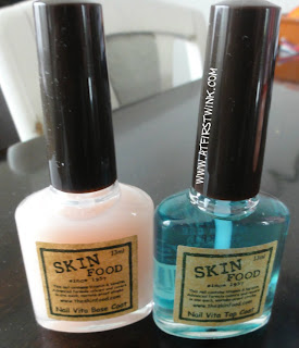 Skinfood Nail Vita base and top coat