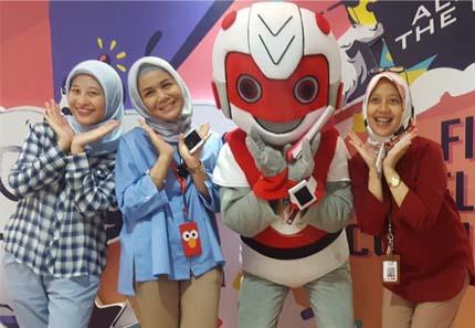Badut Maskot Robot Jakarta