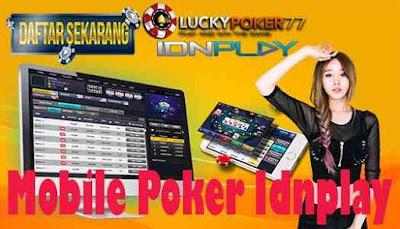Mobile Poker Idnplay