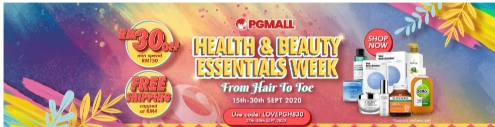 health and beauty essential week pgmall
