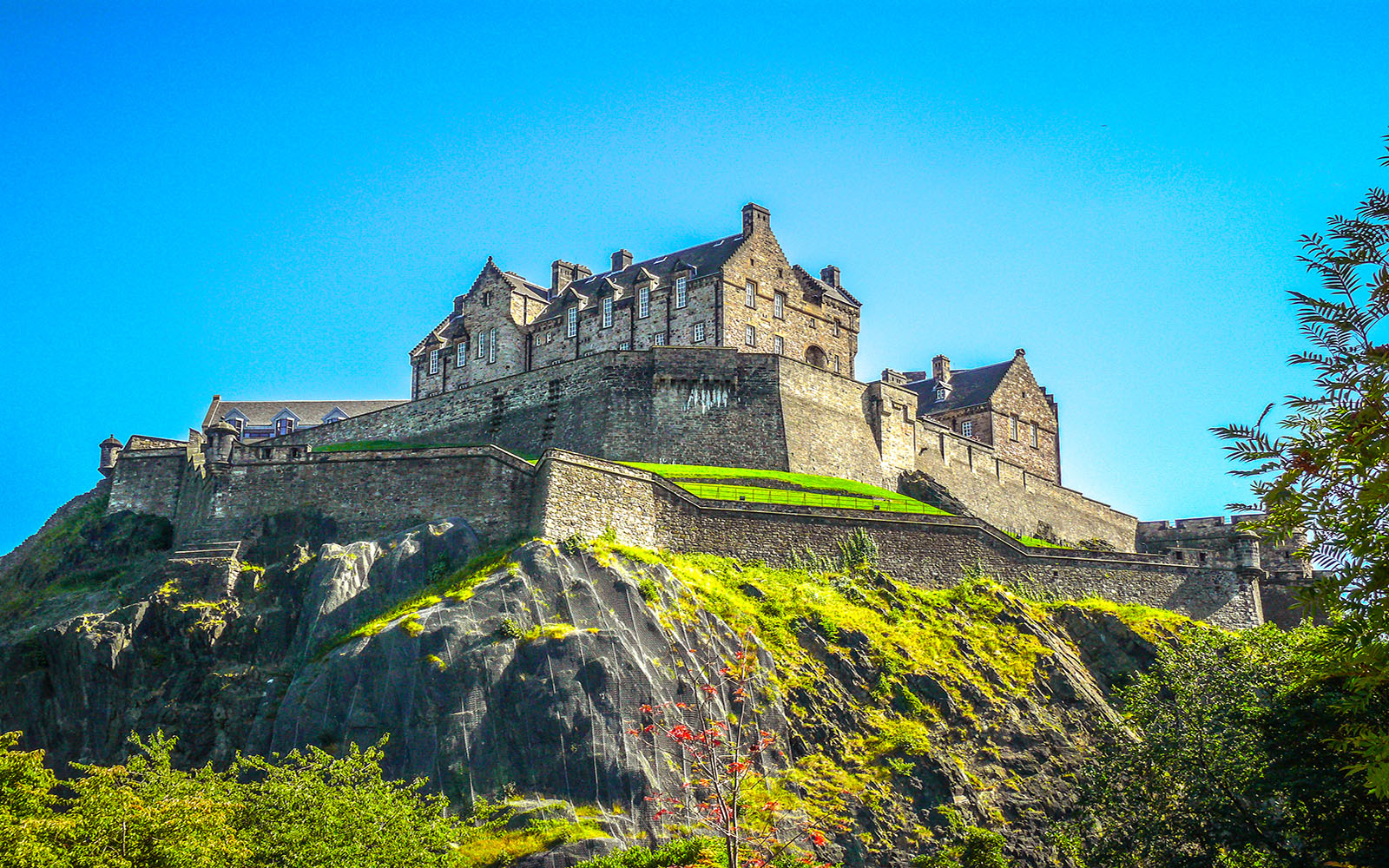 Edinburgh castle Scotland united kingdom
