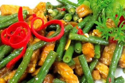 Resep dan Cara Membuat Tumis Kacang Panjang Tempe