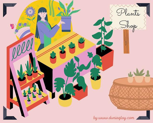 bisnis rumahan tanaman hias