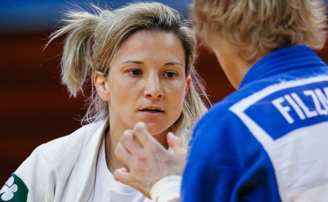 Telma Monteiro do Benfica sagrou-se Campeã Europeia de Judo