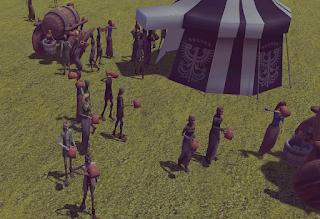 Tourney Medieval Tournament  Sim Game Crowds