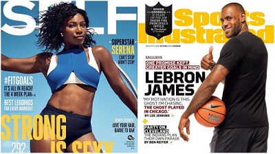 Serena Williams, LeBron James named AP Athletes of the Decade in sports cover