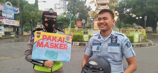Polres Tanjung Balai Tingkatkan Penegakan Hukum Prokes Covid-19