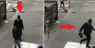 Πλούσιος άνδρας χτυπάει χωρίς λόγο άστεγο στο δρόμο (Βίντεο)