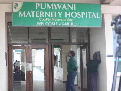 Pumwani Maternity Coronavirus cases photos