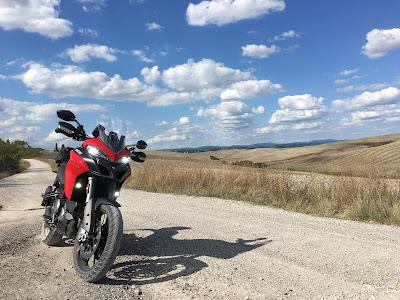 Ducati Multistrada 950s. L'Eroica.