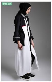 Trend padu padan dress muslim modern ala laudya cynthia bella - Foto moderne dressing ...