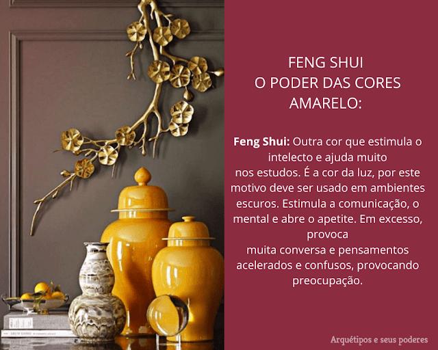As cores no Feng Shui