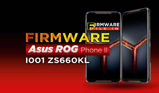 Firmware File Asus ROG Phone 2