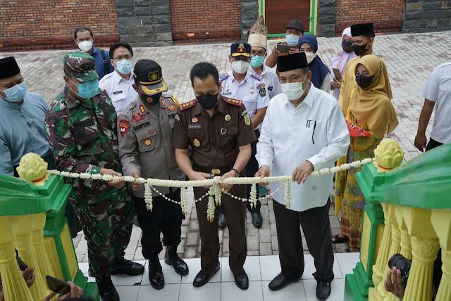 Walikota Tebing Tinggi Meresmikan Rumah Adat Melayu dan Pelatihan Tenun