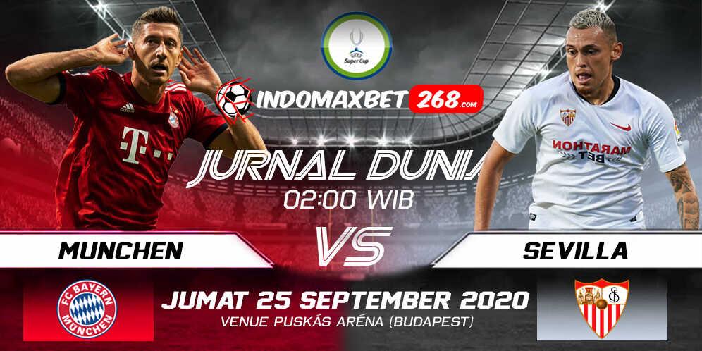Prediksi Bayern Munchen vs Sevilla 25 September 2020 Pukul 02:00 WIB