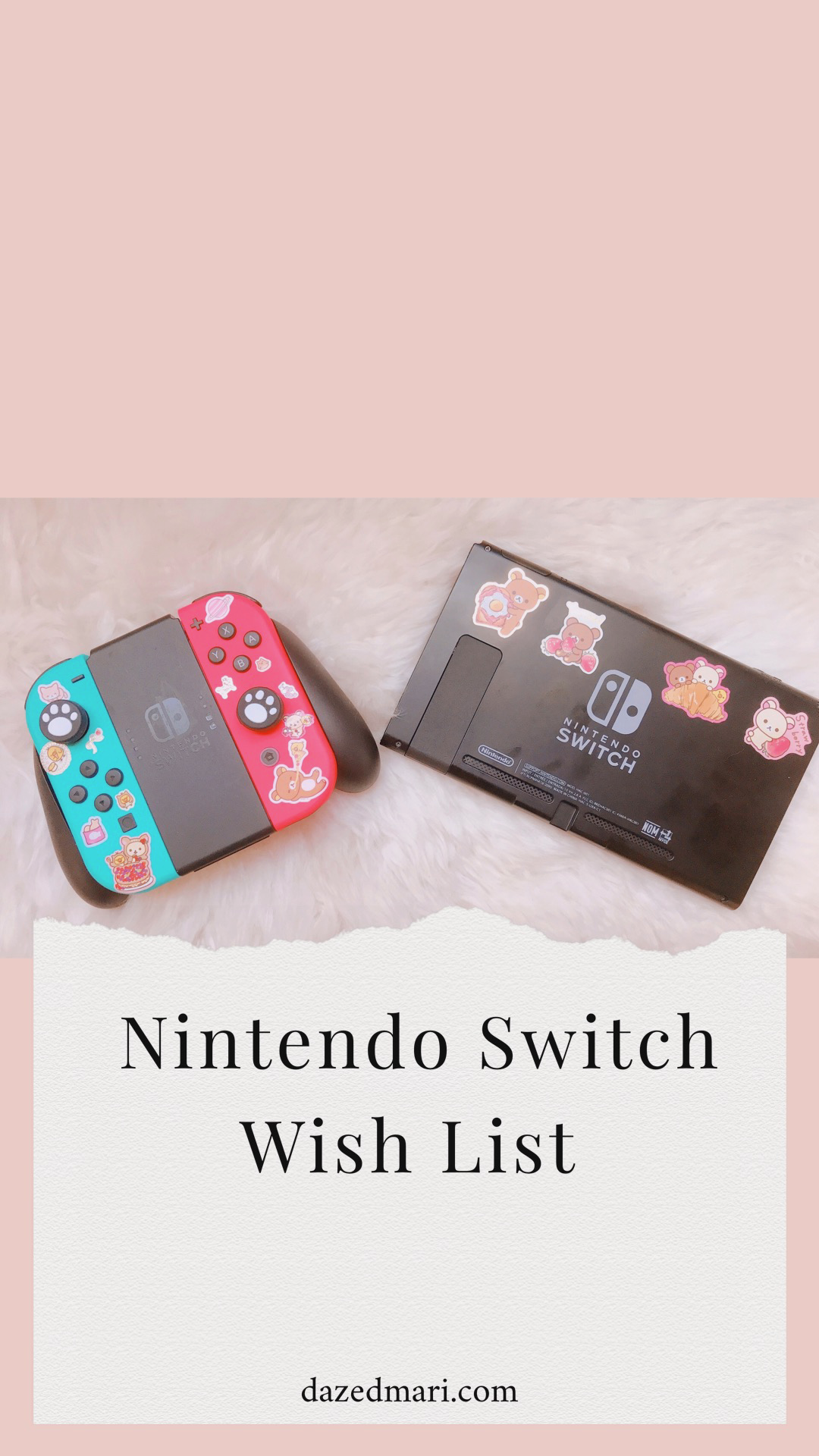 Nintendo Switch, Wish List, Gaming Wish List
