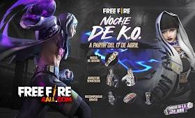 Skin Akasagi Nuevo Samurai De Free Fire 2021