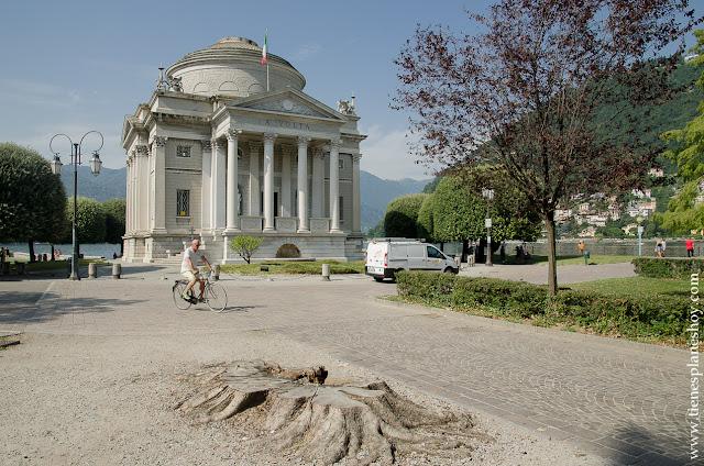 Tempio Voltano Como Italia monumentos viaje