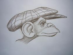 draw things quick doodle monkeys monkey february gorillas far favorite very