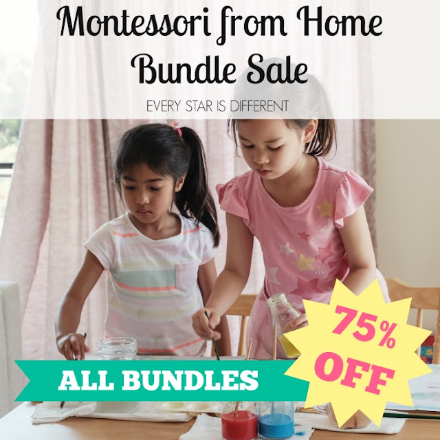 Montessori from Home Bundle Sale-75% OFF ALL BUNDLES