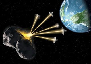 intentarán desviar un asteroide al estilo Armagedón