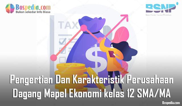 Materi Pengertian Dan Karakteristik Perusahaan Dagang Mapel Ekonomi kelas 12 SMA/MA
